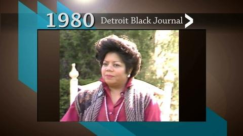 American Black Journal -- Detroit Black Journal Interview: Esther Gordy Edwards