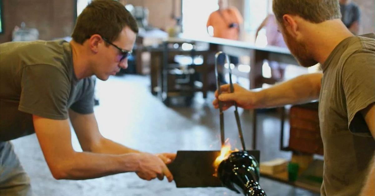 Detroit performs clip glassblowing at liberty craftworks for Oeta schedule