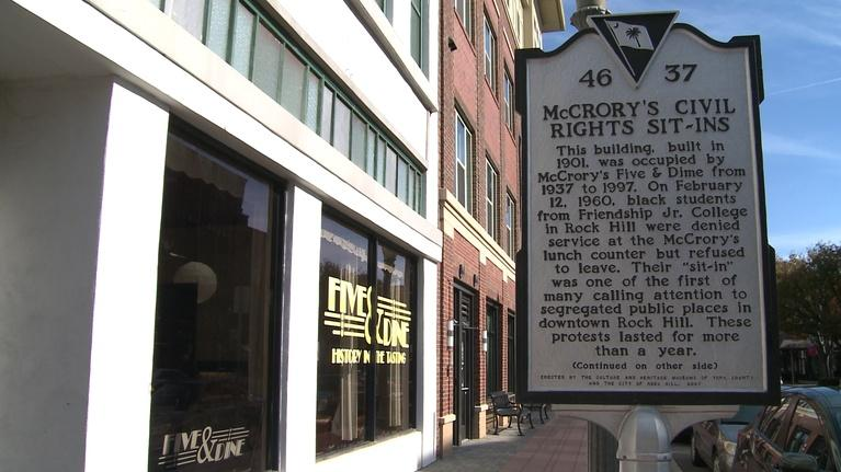 Trail of History: Trail of History - Rock Hill's Friendship Nine