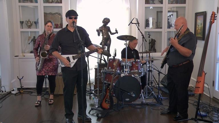 Sunshine Blues: The Marty Stokes Band