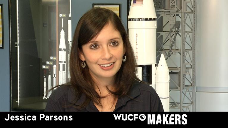 WUCF Makers: WUCF MAKERS - NASAs Jessica Parsons