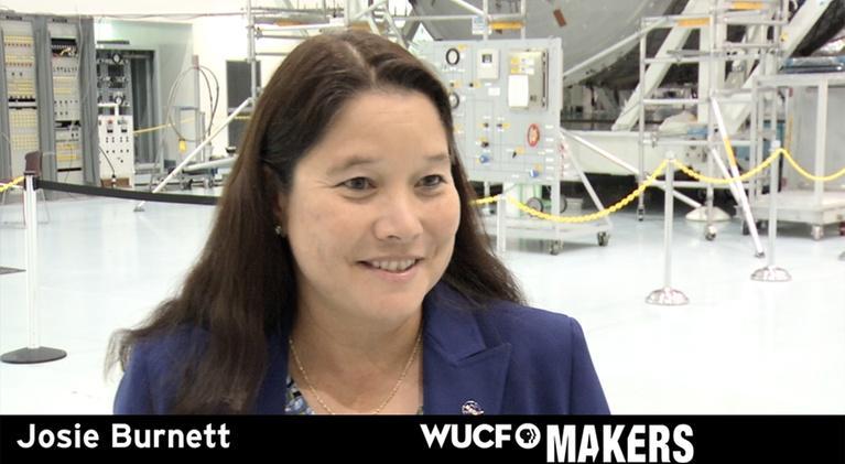 WUCF Makers: WUCF MAKERS - NASA's Josie Burnett