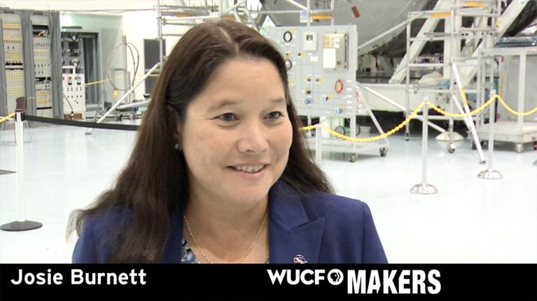 WUCF Makers: WUCF MAKERS - NASA's Josie Burnett