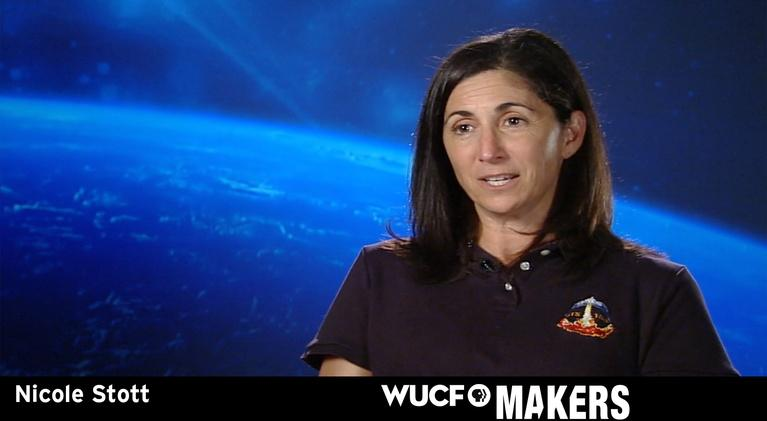 WUCF Makers: WUCF MAKERS - NASA's Nicole Stott