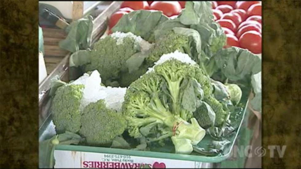 Preparing Fresh Broccoli image