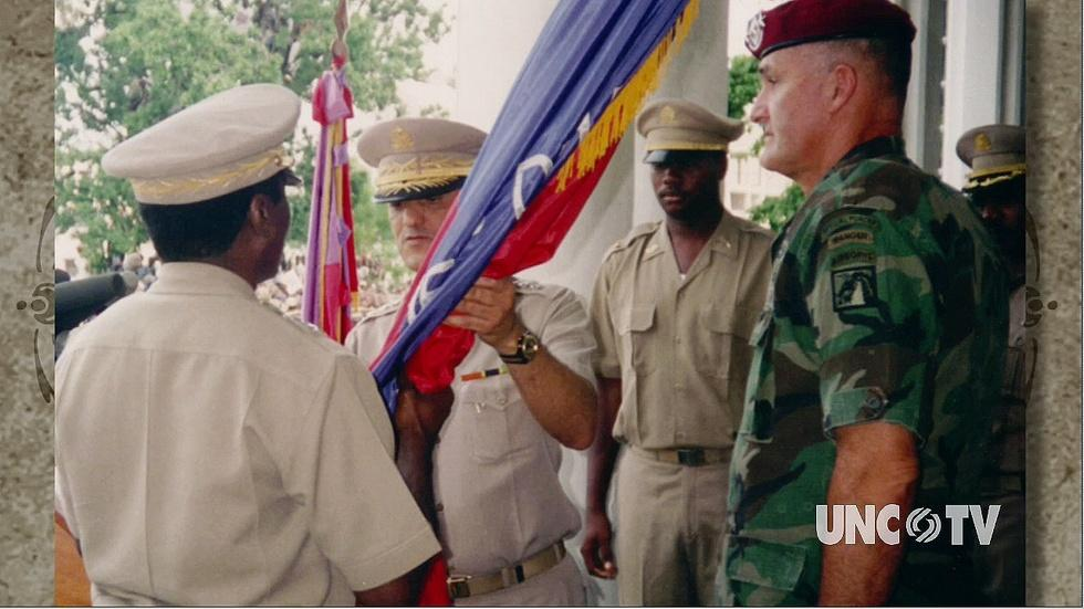 Gen. H. Shelton PT 3: Talks Pres. Bush/Saddam image