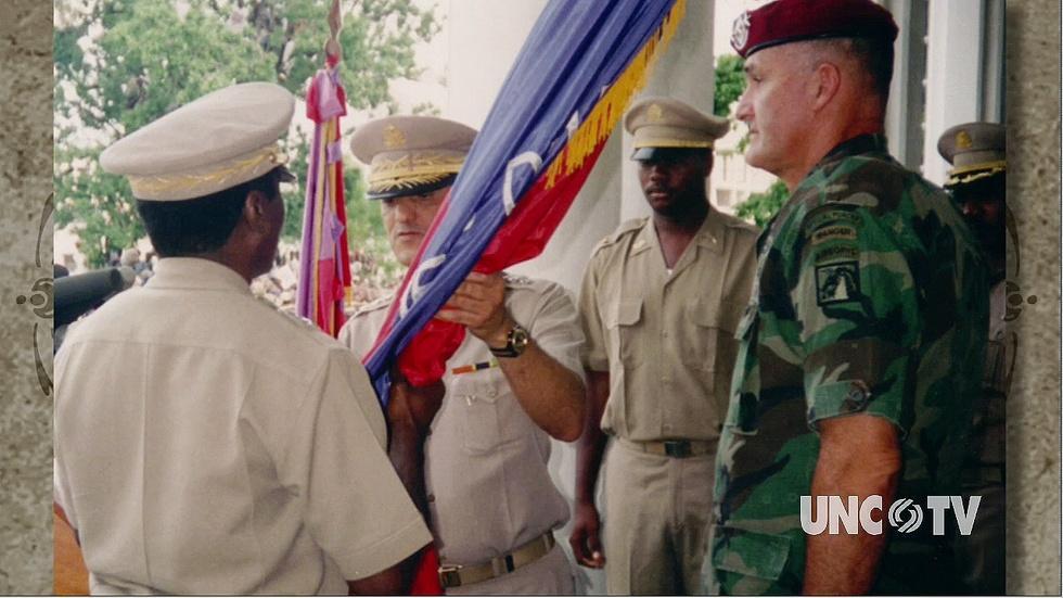 Gen. H. Shelton PT 3: Talks Sec. Rumsfeld image