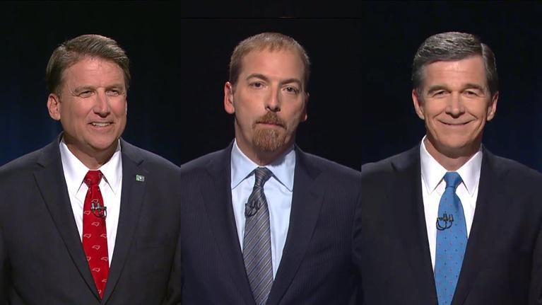 Election: 2016 NCAB North Carolina Gubernatorial Debate