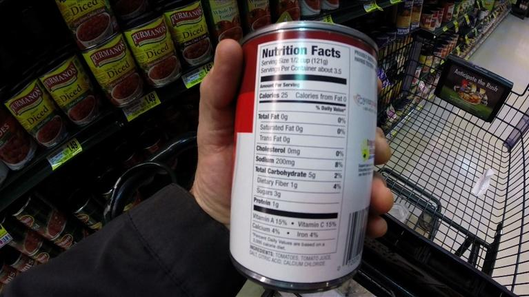 The Fitness Files: Nutrition Facts Labels