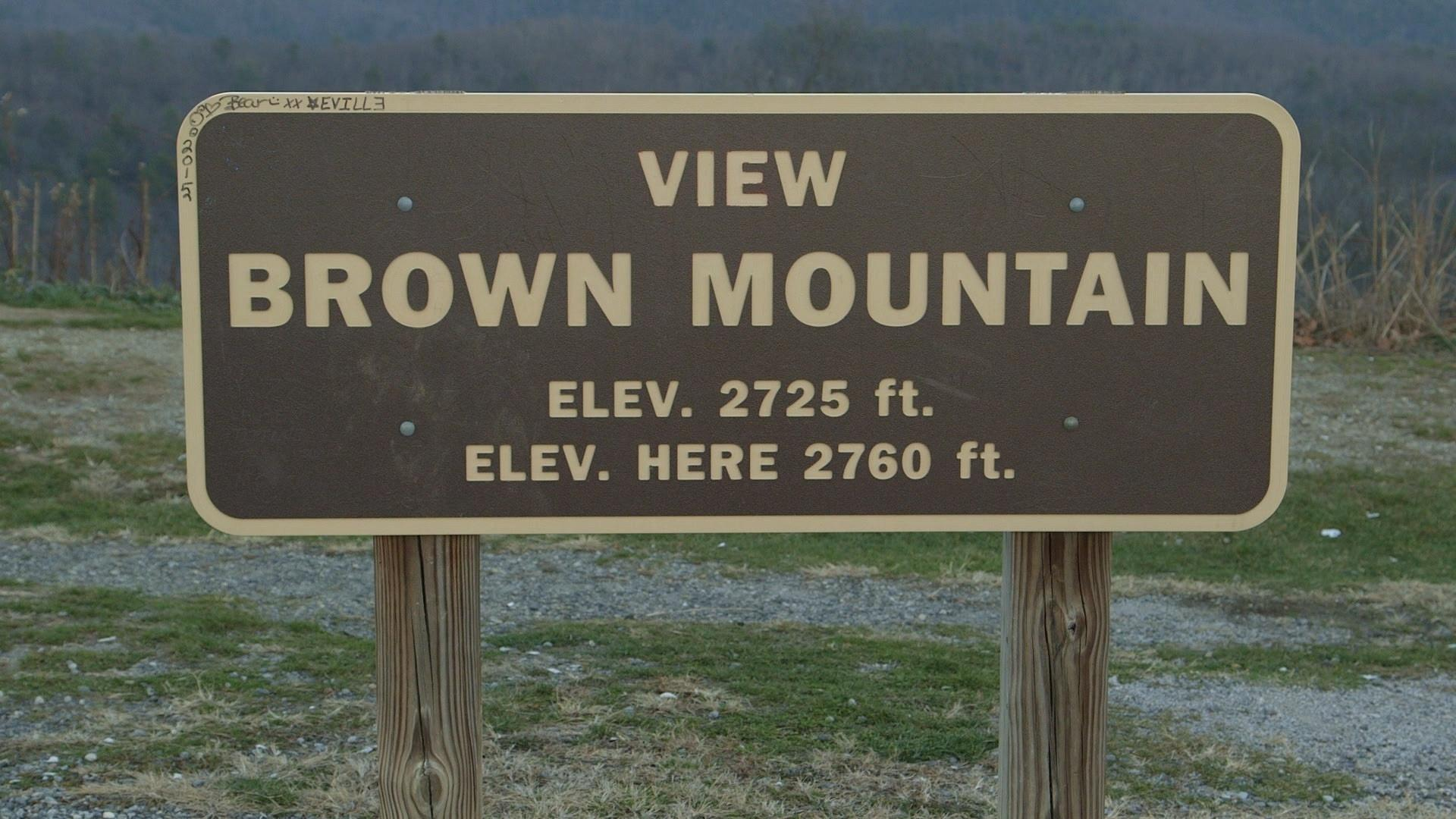 Video Brown Mountain Lights My Home NC