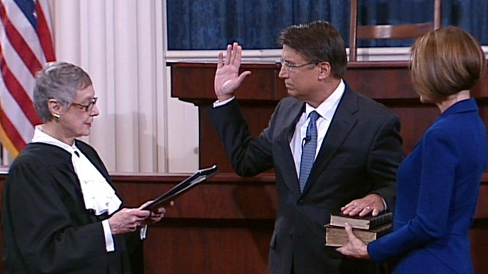 Governor Pat McCrory Swearing In Ceremony image