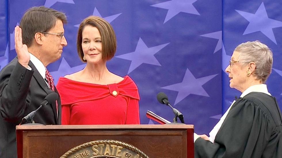Governor Pat McCrory Inauguration Ceremony image