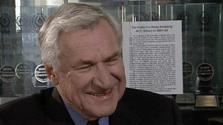 NC People: Dean Smith UNC Chapel Hill Basketball Coach 2004