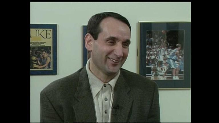 NC People: Mike Krzyzewski Duke Basketball Coach 1998