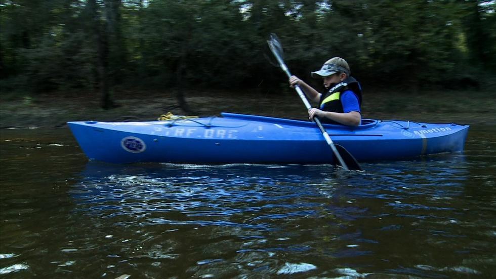 Tar River Paddling and Camping image