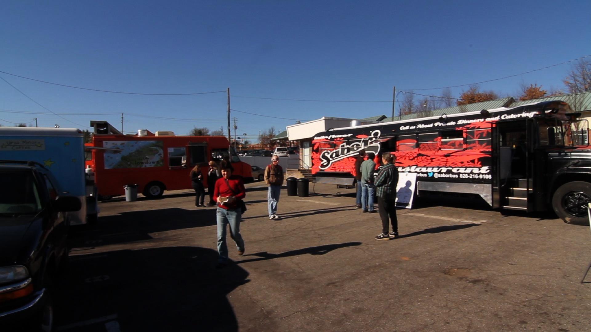 Food Trucks Asheville Nc The Lot