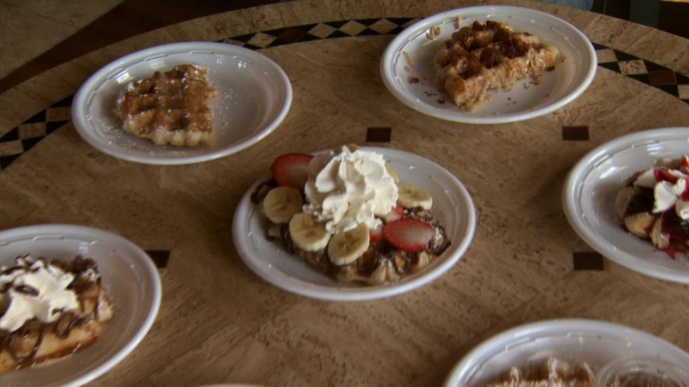 Cast Iron Waffles image