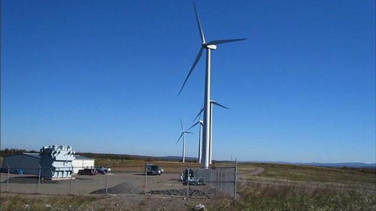North Carolina Rising: Wind Farm