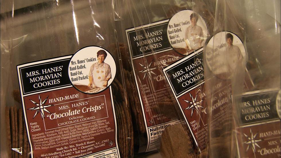 Mrs. Hanes' Moravian Cookies image