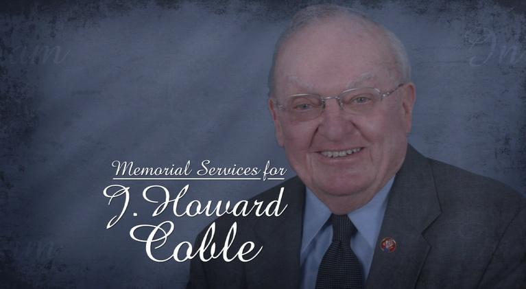 UNC-EX: Memorial Service for U.S. Representative Howard Coble