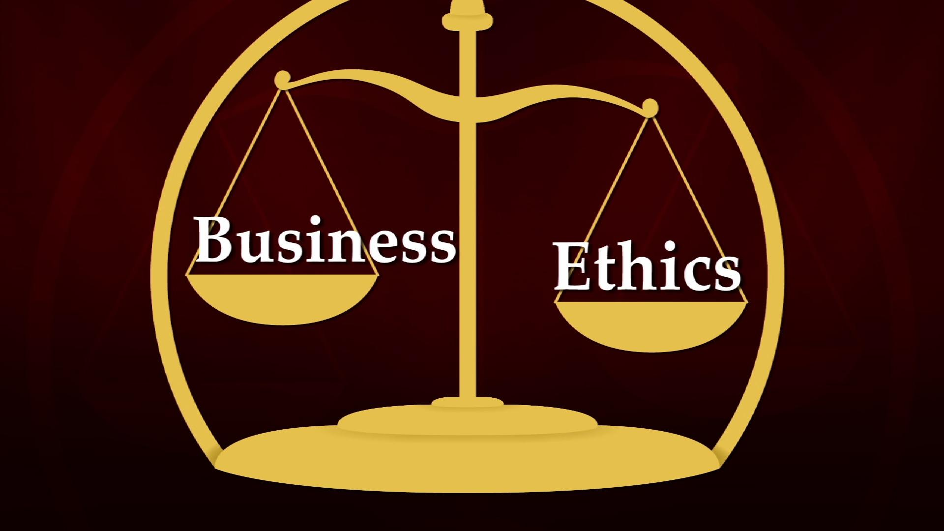 An analysis of the company ethics and morality in business