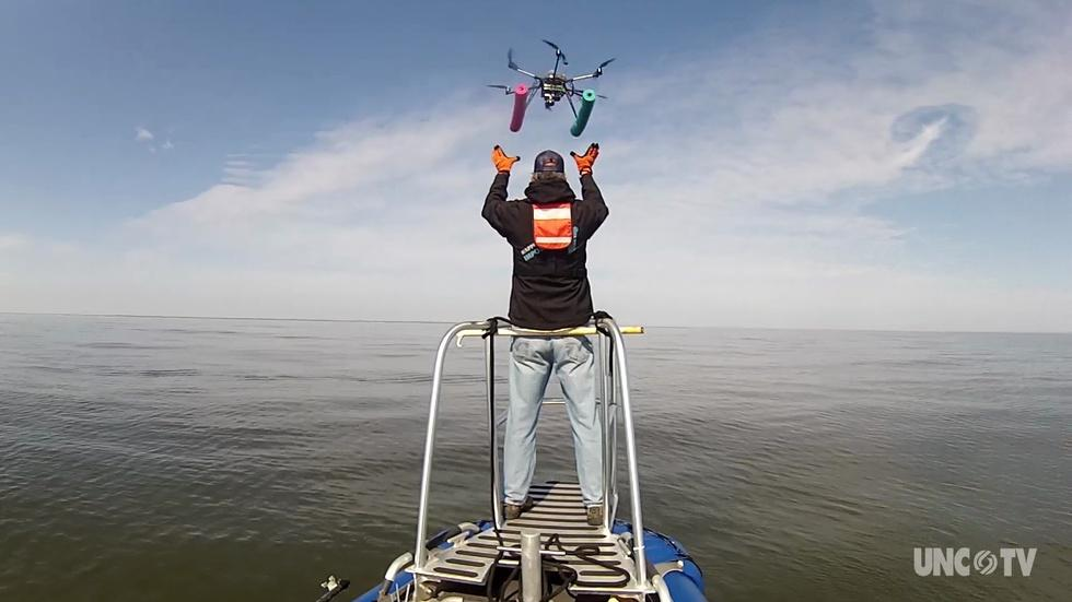 NC Science Now: A Drone's Eye View of the Ocean image