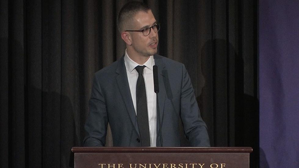 Stephen Karam: University of Scranton Distinguished Author image