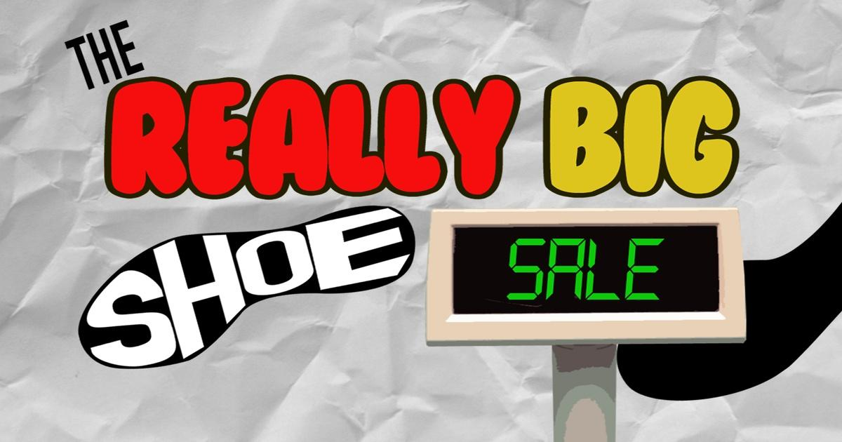 The Really Big Shoe Sale Math Mess Pbs