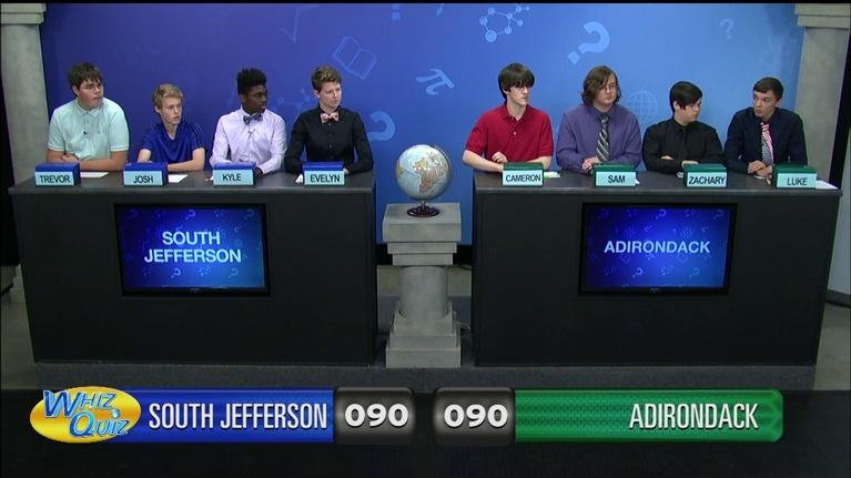 Whiz Quiz: South Jefferson vs. Adirondack
