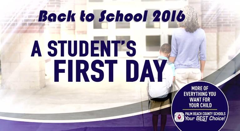 Good Sports: First Day Of School