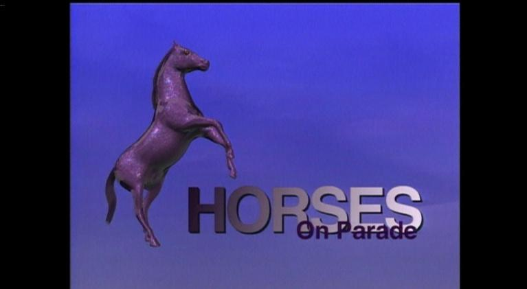 People & Places: Horses On Parade