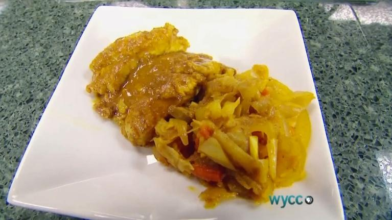 Food on the Go!: Curried Catfish