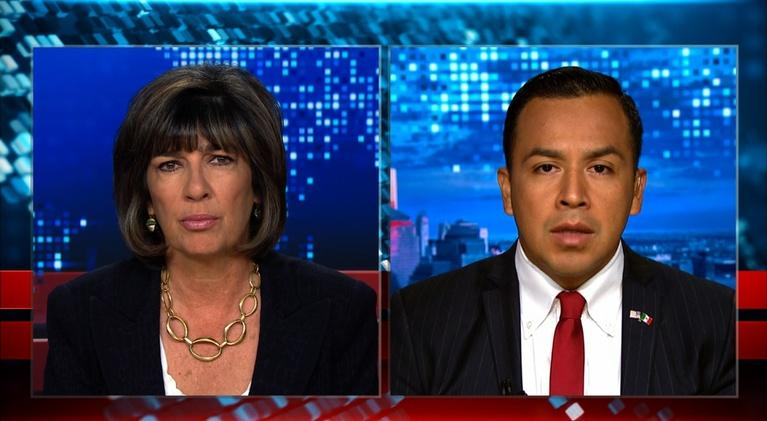 Amanpour on PBS: Amanpour: Cesar Vargas on family separations