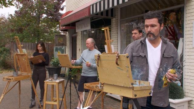 Don Ripper and Art on the Avenue