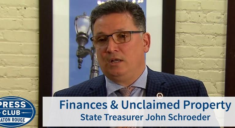 Press Club: Finances and Unclaimed Property | John Schroder | 06/13/19