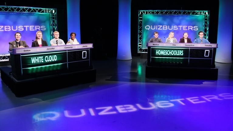 QuizBusters: White Cloud vs Lansing Homeschoolers