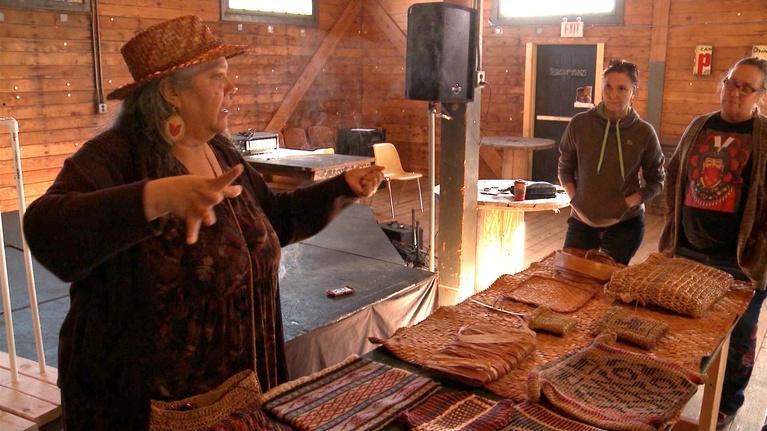 Common Ground: Boys & Girls Club Garden & Bulrush Weaving