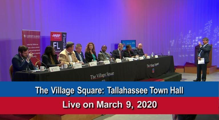 WFSU Documentary & Public Affairs: Village Square: Tallahassee Town Hall 2020
