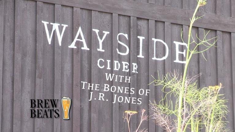 Brew Beats: The Bones of J.R. Jones at Wayside Cider