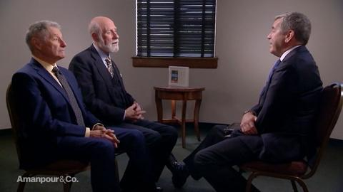 Amanpour and Company -- Leonard Kleinrock & Vint Cerf on the Invention of the Web