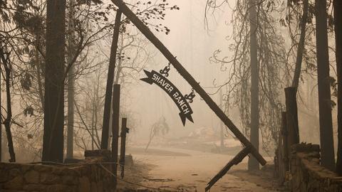 Wildfires rage across California, Oregon, Washington state