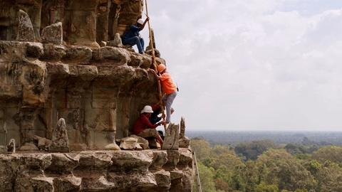 Earth's Sacred Wonders -- Climbing the Towers of Angkor Wat