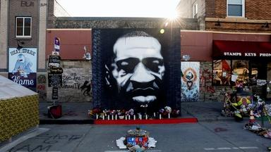 How George Floyd's image became a street art icon