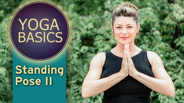 Yoga Basics with patty: Yoga Basics with patty: Standing Pose II