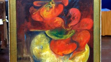 Appraisal: Zelda Fitzgerald Oil Painting, ca. 1935