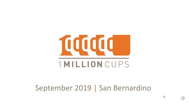 State of the Empire: One Million Cups September 2019