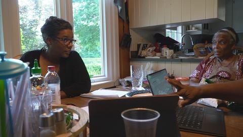 PBS American Portrait -- Deleted Scene: Lumiere's Family Searches For A Caretaker