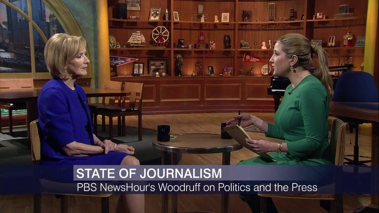 Chicago Tonight: Judy Woodruff on President Trump and the State of Journalism