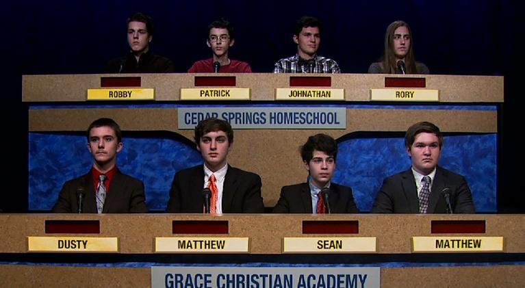 Scholars' Bowl: Cedar Springs vs Grace Christian Academy