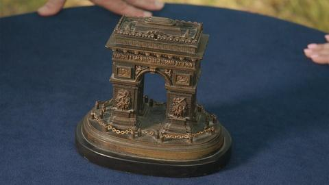 Antiques Roadshow -- Appraisal: French Arc de Triomphe Bronze, ca. 1890